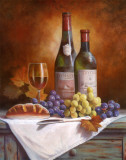 Wine and Grape II Art