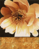 Magnolia Gold Tile I Posters by T. C. Chiu
