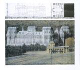 Reichstag empaqueté, projet pour Berlin Affiches par  Christo