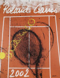 Roland Garros, 2002 Samlertryk af Robert Arman
