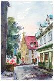 Petit Champlain Prints by Jean-roch Labrie