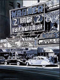 Broadway I Poster by Alain Bertrand
