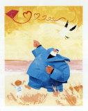 Papy Pechou et le Cerf-Volant Posters by Hubert Rublon