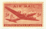 Air Mail Stamp Prints