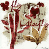 Fly Butterfly Prints by Olivia Cosneau