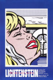 Shipboard Girl Collectable Print by Roy Lichtenstein