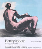 Seated Woman, 1984 Limited Edition by Henry Moore