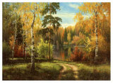 Autumn Way III Prints by Igor Priscepa