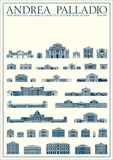 Planned and Unfinished Buildings Prints by Andrea Palladio