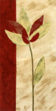 Fleur Rouge II Posters by Luisa Tosini