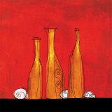 Three Bottles Affiches par Gabriel Scott