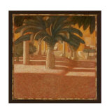 Sienna Palm II Collectable Print by Fabrice Alberti