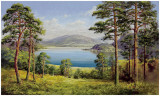 Otmuchow Lake Prints by H. Buchner
