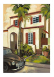 Villas I Collectable Print by  Larson