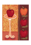Red Apples II Prints by Monica Ibanez