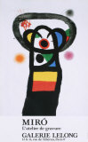 L&#39;Atelier de Gravure Posters by Joan Mir&#243;