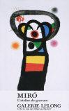 L'Atelier de Gravure Art by Joan Miró