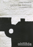 Galerie Lelong, 1990 Poster by Eduardo Chillida
