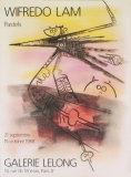 Pastels, 1988 Samlertryk af Wilfredo Lam