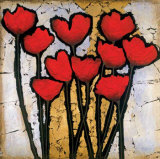 Tulip Garden I Posters by Gabriel Scott