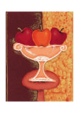 Red Apples I Print by Monica Ibanez