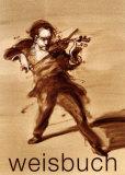 Le Virtuose Poster von Claude Weisbuch