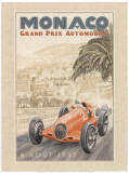Grand Prix Automobile, c.1937 Konst av Bruno Pozzo