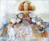 Menina II Prints by Joaquin Moragues