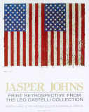 Flags, I, 1973 Lmina coleccionable por Jasper Johns