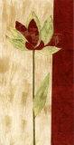 Fleur Rouge III Prints by Luisa Tosini