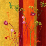Hymne A la Nature Prints by Anne Besombes