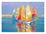 Boat Race I Prints by Joaquin Moragues