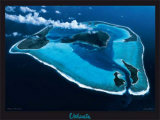 Polynesie, Bora-Bora Prints by Georges Bosio