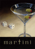 Casino Martini Prints by Marco Fabiano