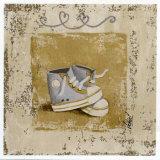 Chaussures Bleues Posters by Véronique Didier-Laurent