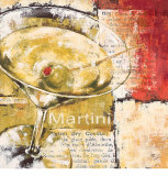 Martini Day Prints by Stefania Ferri