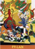 Fleurs et Dominos Poster by Alfred Pellan