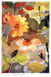 Wasserlilien Poster von Kim Parker