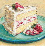Strawberry Cake Prints by Ian Mclean