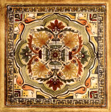 Italian Tile IV Print by Ruth Franks