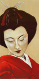 Geisha I Print by Patricia Perrocheau