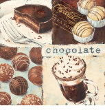 Chocolate Indulgence Posters by Stefania Ferri