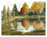 Autumn Reflections Prints by Ed Grey