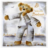 B Comme Bonheur Art by Jo&#235;lle Wolff