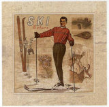 Ski Nature Art by Bruno Pozzo