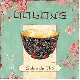 Oolong-Tee Kunstdrucke von Stefania Ferri