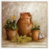 Cruche et Pot de Courge Affiches par Vincent Perriol