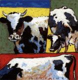 Les Trois Vaches Posters by  Morlaine