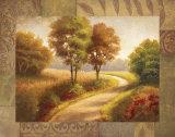 Afternoon Path Prints by  Mathews
