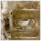 Tasse de Cafe Prints by Véronique Didier-Laurent